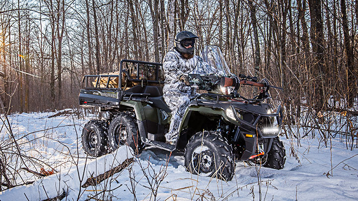 SPORTSMAN 6X6 570 EPS - Built for All Day Comfort