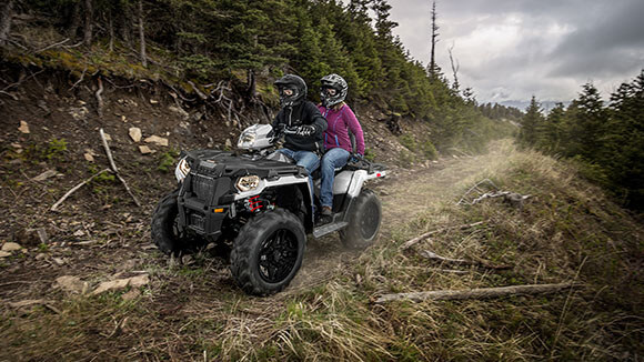 SPORTSMAN TOURING 570 EPS - DURABLE. RELIABLE. BUILT TO LAST